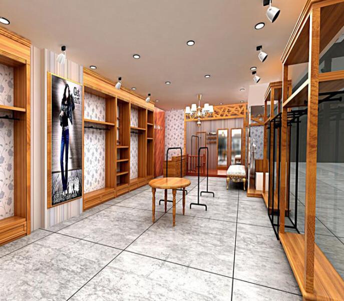 杭州服装展柜