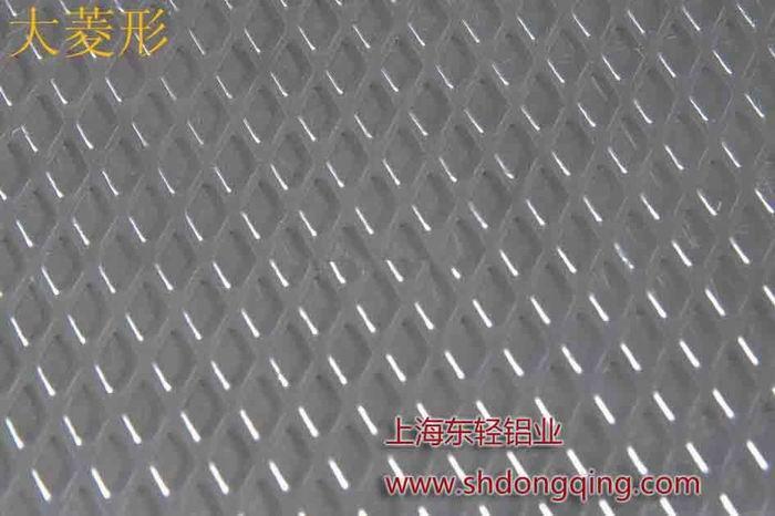 大菱形花纹铝板价格图片