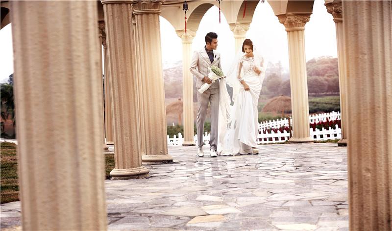 赫拉视觉婚纱摄影-欧式街景