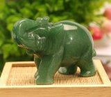 玉石大象工藝品