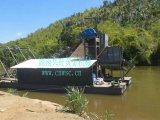 采金船,淘金船設備