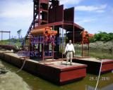 挖金船|采金船|淘金船多用砂金设备