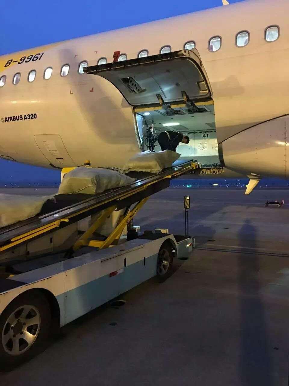 萧山机场货运装载-案例展示