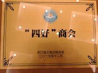 """我会荣获省直""""四好商会""""荣誉"""