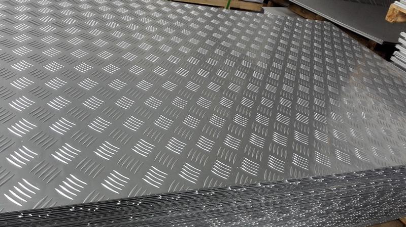 3003防滑花纹铝板价格图片