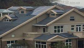 家庭户用斜屋顶太阳能光伏发电系统