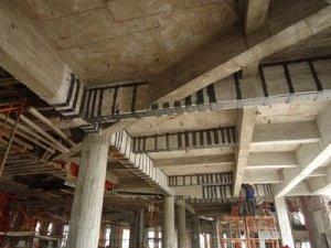 万达广场-建筑结构加固