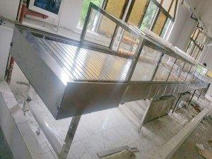 水转印设备--全不锈钢链板式水洗机