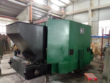 Raw coal burner
