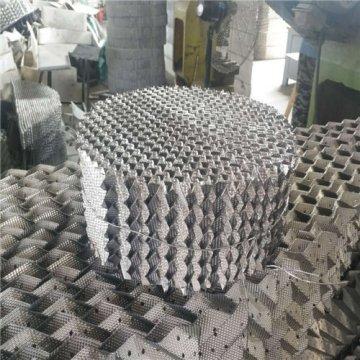 刺孔波纹填料用于碱洗塔