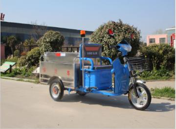 电动三轮保洁车不锈钢箱体转运车