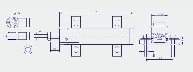 ktm微型拉杆式位移传感器www.shnsen.cn