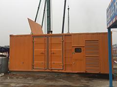 建筑工地发电机租赁
