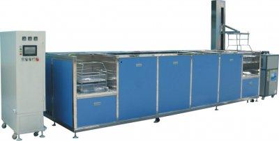 五槽全自动碳氢超声波清洗机