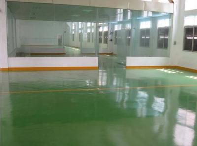 环氧溶剂型砂浆重载涂装地坪系统