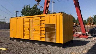 西安/咸陽500KW發電機租賃服務建筑垃圾處理