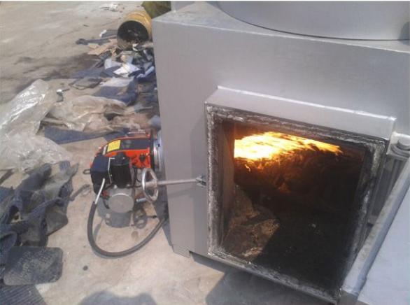 移动式焚烧炉