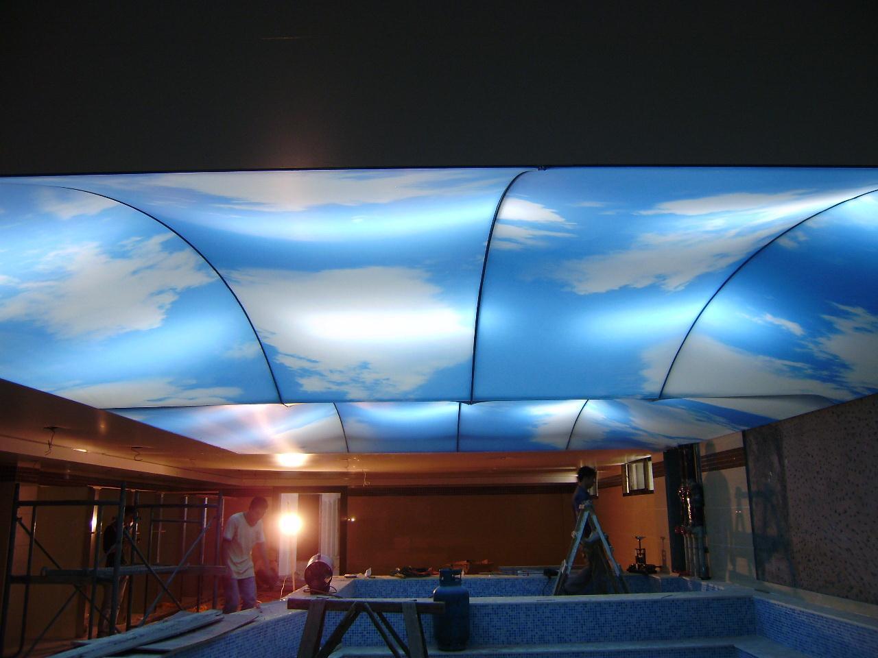 泳池软膜天花12