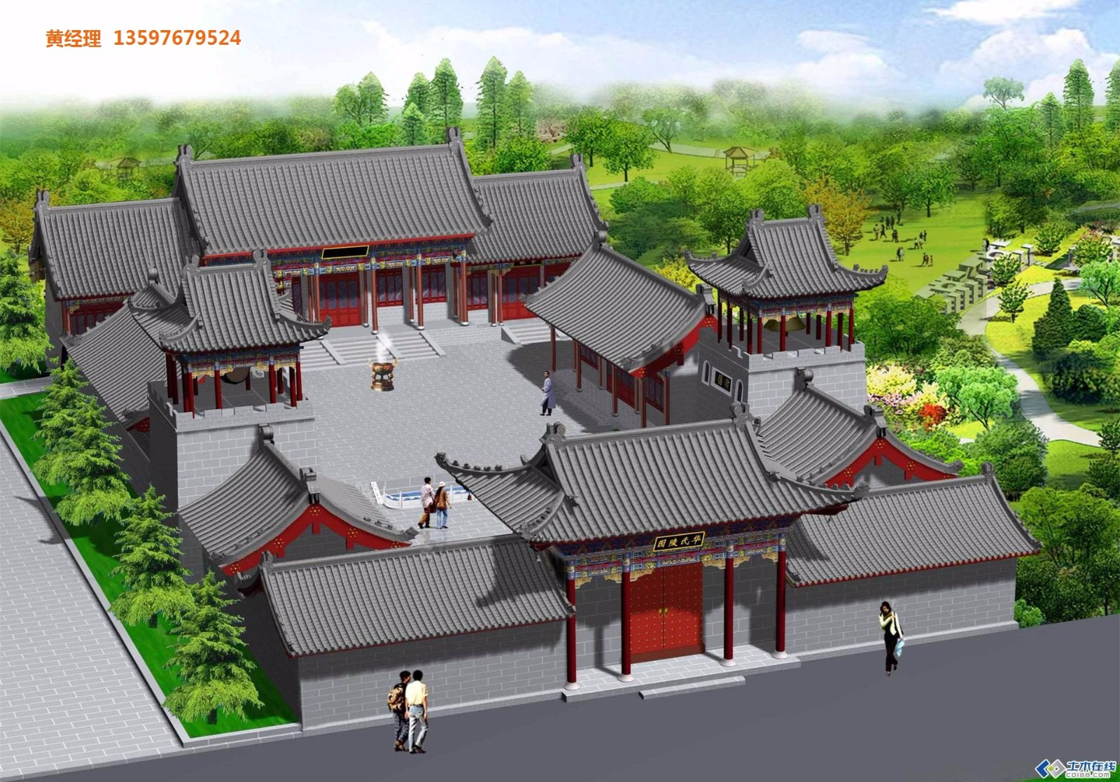 古建寺院寺庙设计寺院寺庙施工