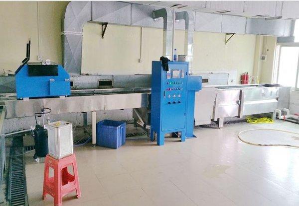 全自动水转印机器  自动流膜机