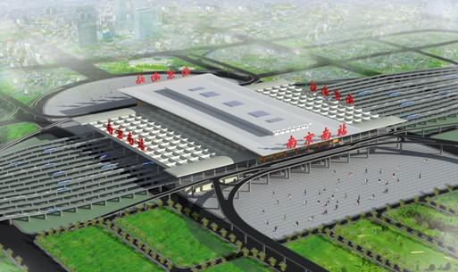 南京南站站房桁架工程