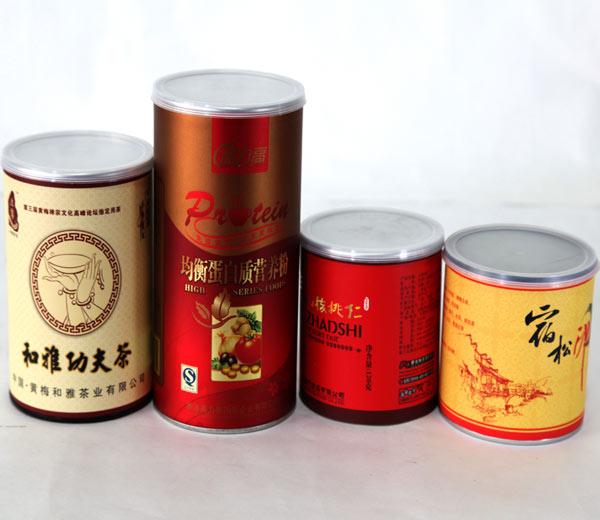 食品纸罐 食品纸筒 食品纸管
