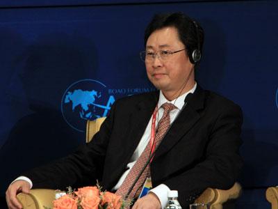 图文:中国铝业公司总经理熊维平
