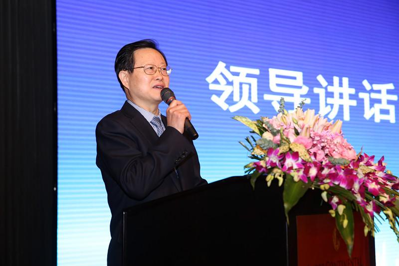 (39.1)我會舉辦《公益事業與經濟發展高峰論壇》杭州市副市長謝雙成講話致辭2016.12.23_副本.jpg