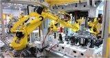 车身总成合拼装定位焊工位忌用机器人直接安放拼装件