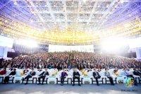 第九届(全球)湘商大会在益阳举行,我会代表应邀出席