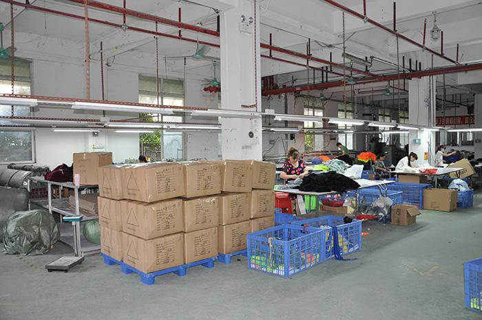 濟南大型服裝廠