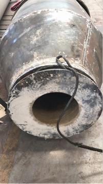 Direct fire-burning calciner