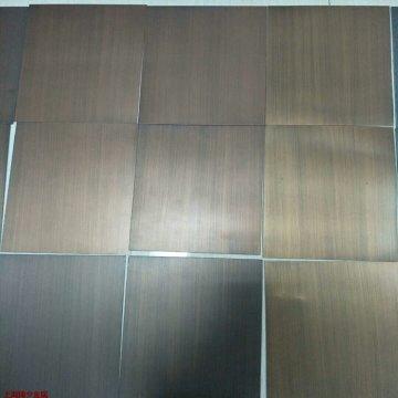 仿铜色氧化拉丝铝板