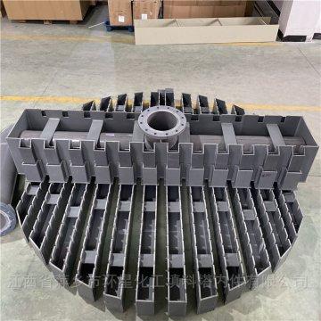 耐腐蚀PVC材质槽式液体分布器