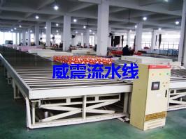 床垫生产线