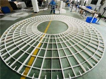 中间留孔PP聚丙烯填料支撑格栅板