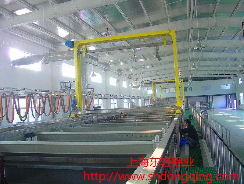 铝板氧化生产线价格图片