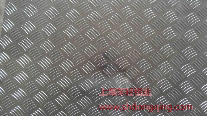 五條筋防滑花紋鋁板價格圖片