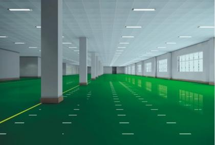 环氧树脂防静电自流平地坪