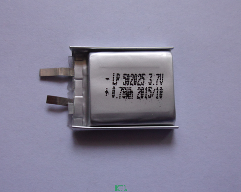 聚合物锂电池KTL502025-200mAh