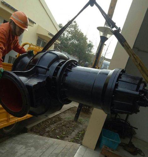 潜水泵安装