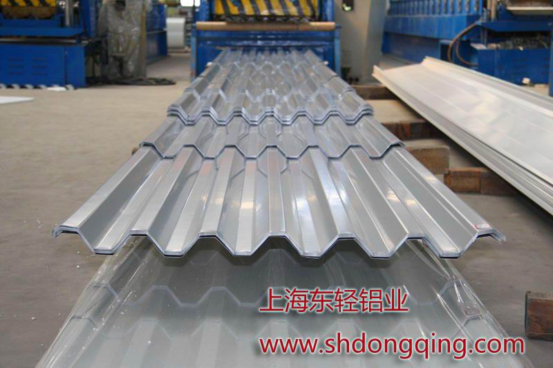 鋁瓦楞波紋板價格圖片