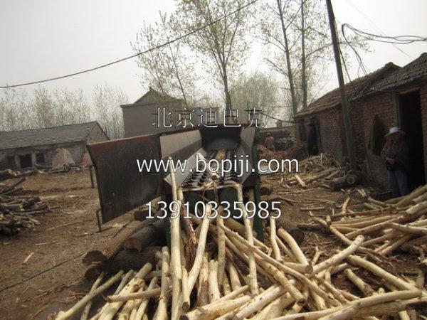 槽式木材剥皮机