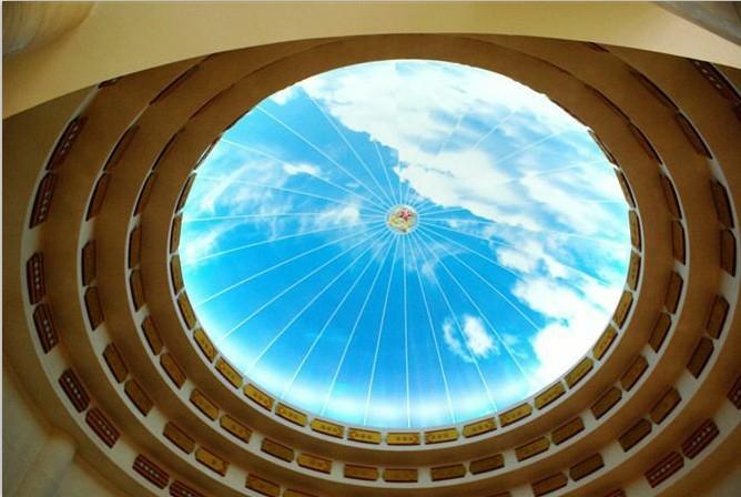 酒店大堂软膜天花吊顶