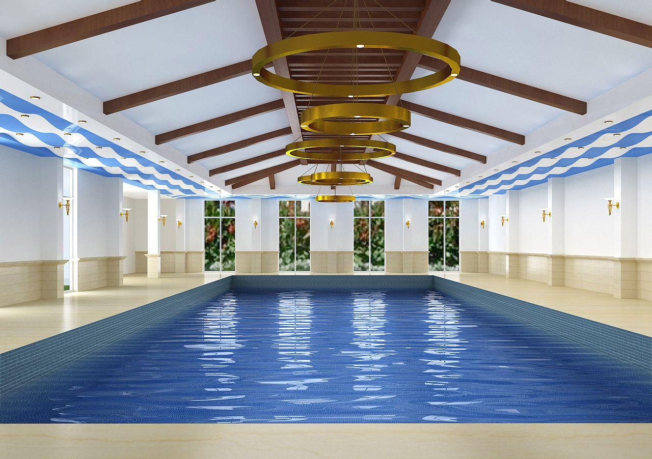 泳池软膜天花9